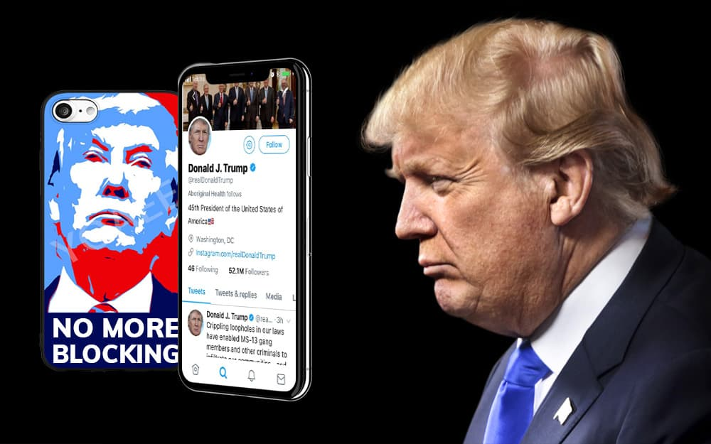 Trump ordered not to block critics on Twitter 1