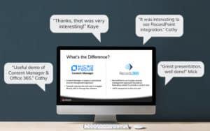 Webinar feedback