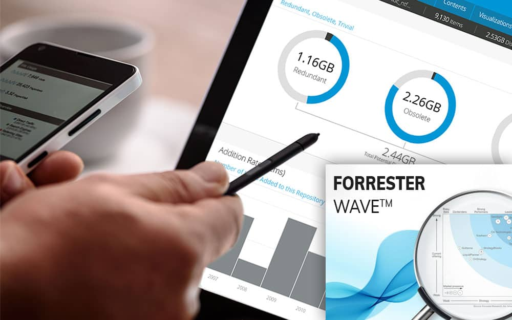 Micro Focus Named as Leader in File Analytics by Forrester Wave in 2018