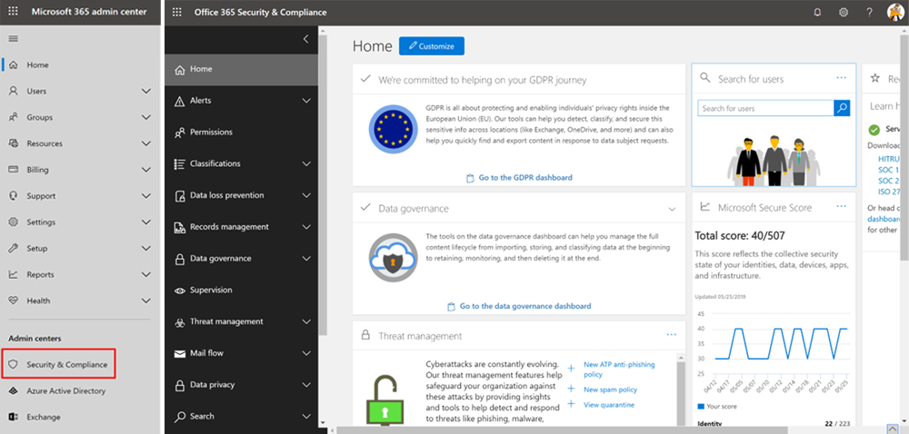 Office 365 Security And Compliance Alerts