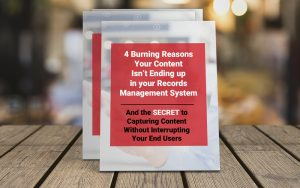 reasons your content isn't being captured by your eDRMS