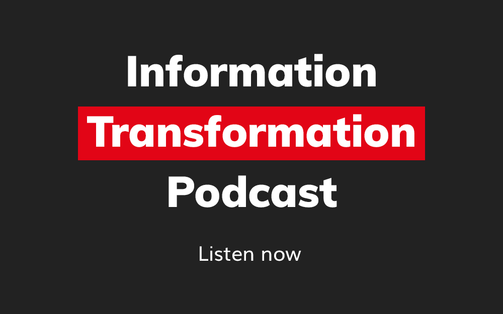 Information Transformation Podcast WP sidebar
