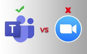 Zoom vs Microsoft Teams