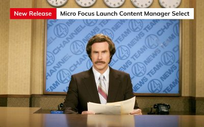 Micro Focus Launches Content Manager Select