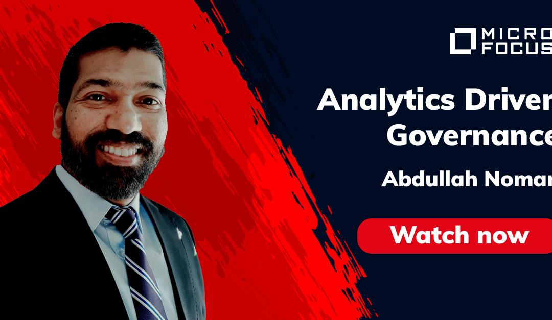 Analytics Driven Information Governance