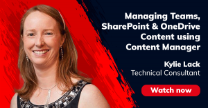 Content Manager SharePoint Integration